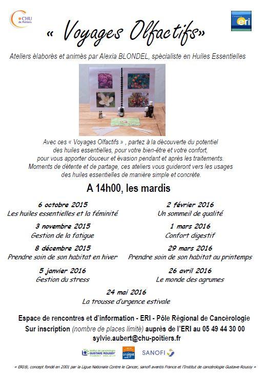 Atelier CHU Poitiers 2015-16